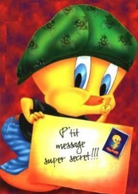 Un petit message de Tweety