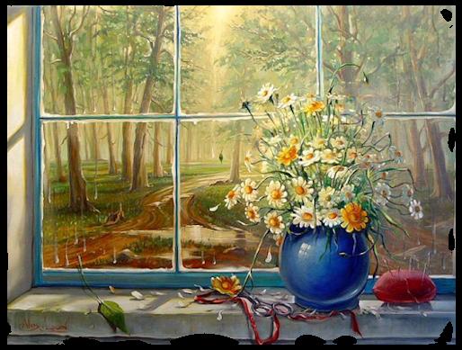 Nature vue de la fenêtre