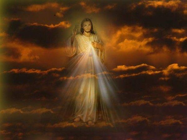 Le Christ qui monte au Ciel en nous offrant sa bénédiction