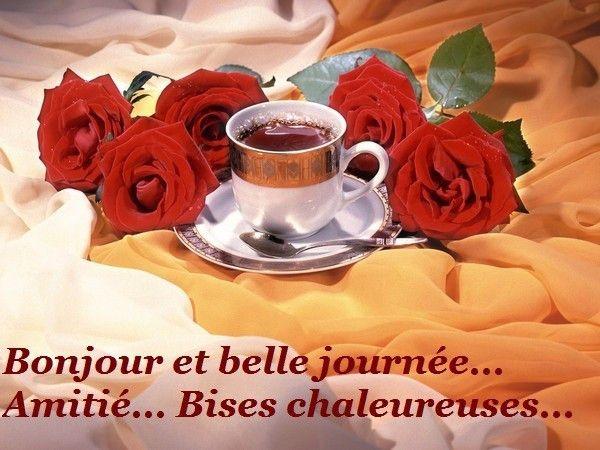 Bonjour et belle journée