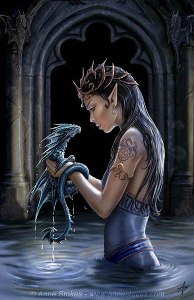 L'elfe et son ami