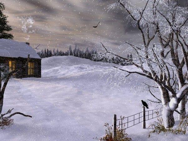 Scenery wallpaper image fond d 39 ecran paysage d 39 hiver for Fond ecran gratuit hiver